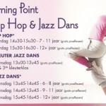 Jazz Dans, Hip Hop en Hedendaagse Dans Proeflessen!